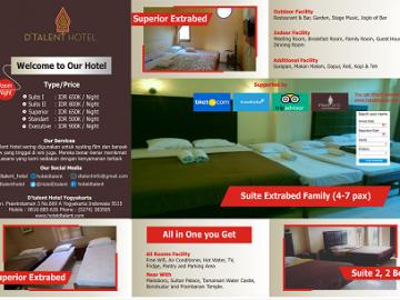 Reservasi hotel dengan rombongan di Dtalent Hotel